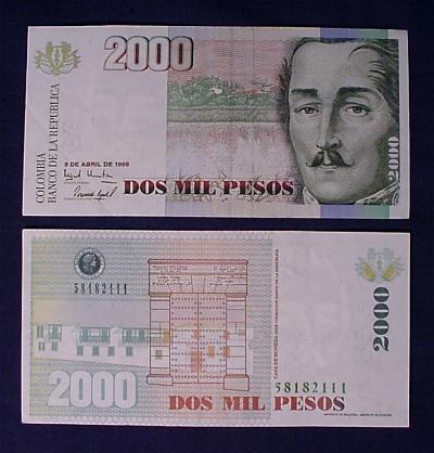 Colombia Money